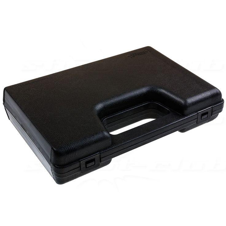 Walther Pistolenkoffer / Waffenkoffer, schwarz, 24,5x16,5x5,0 cm