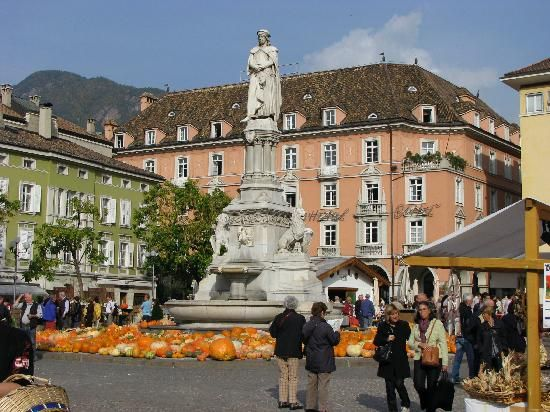 piazza walther platz, Bolzano Italy