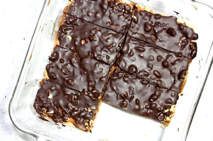 No-Bake Snickers Protein Bars - Busy But Healthy