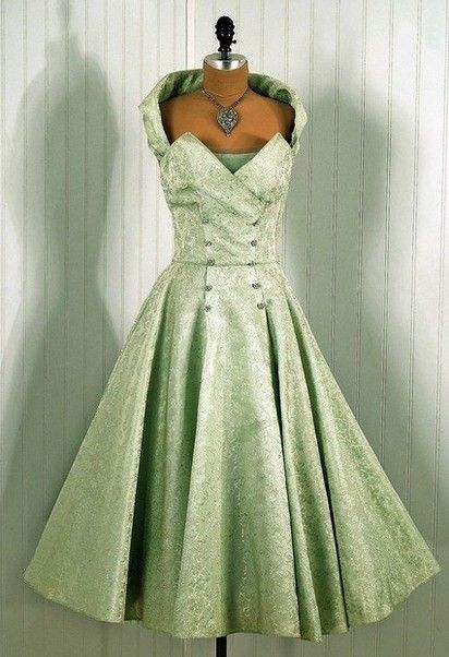 Luscious 1950's Dress! Oh!