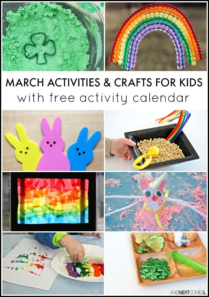 169 best Seasonal SPRING Activities for Kids images on Pinterest - activity calendar
