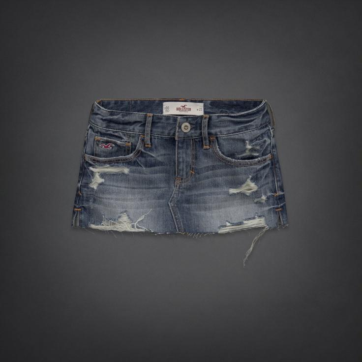 Bettys Hollister Denim Skirt | Bettys Skirts | HollisterCo.com