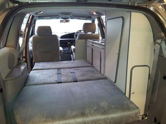 Convert Chrysler Voyager Camper 3 Matkabuss Kamperen