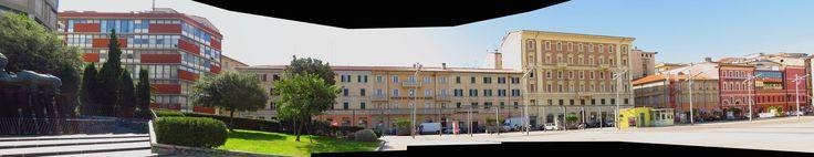 Ancona, Marche, Italy - Piazza Pertini 1 by Gianni Del Bufalo CC BY-NC-SA | STA_9224-28 stitch