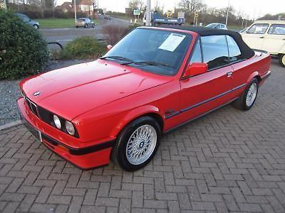 eBay: 1992 BMW 318i E30 CABRIOLET RED #classiccars #cars