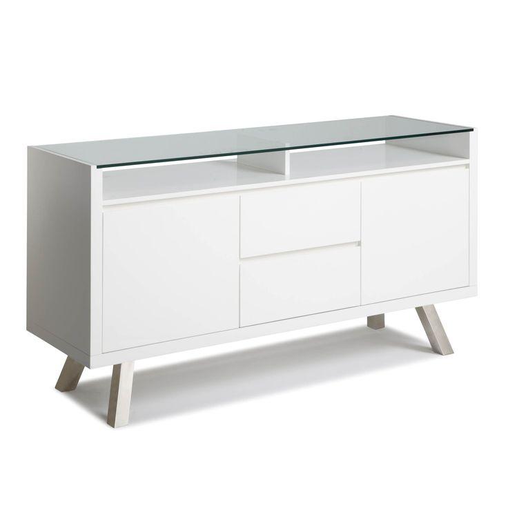 Glossy White Contemporary Clear Temper Glass Sleek Modern: Best 25+ High Gloss Kitchen Cabinets Ideas On Pinterest