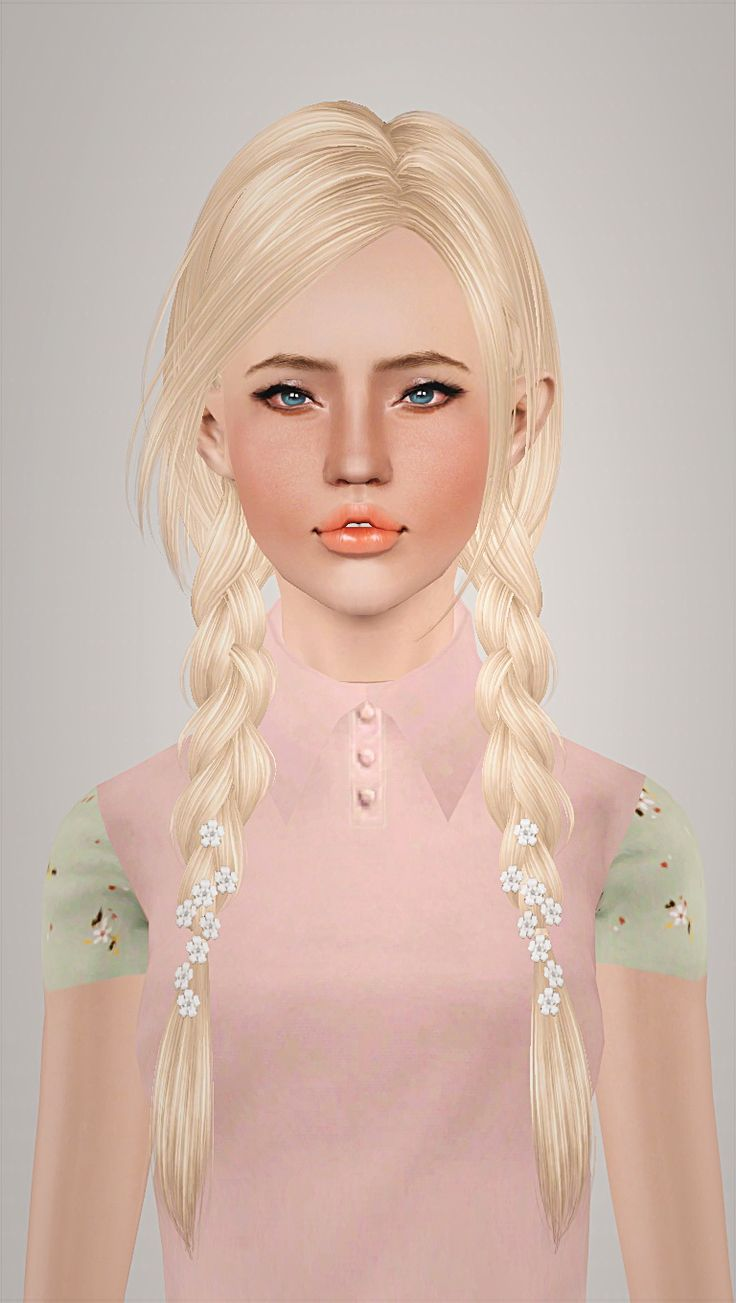 Skysims 163  hairstyle retextured by Imamii for Sims 3 - Sims Hairs - http://simshairs.com/skysims-163-hairstyle-retextured-by-imamii/
