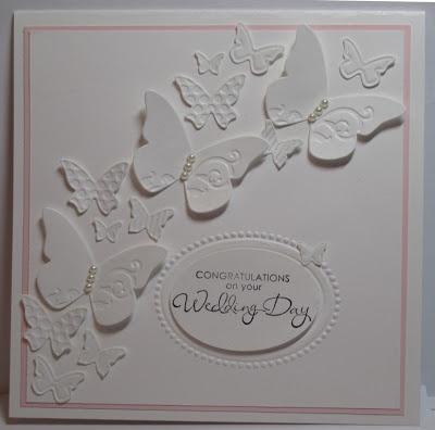 Beautiful all white card