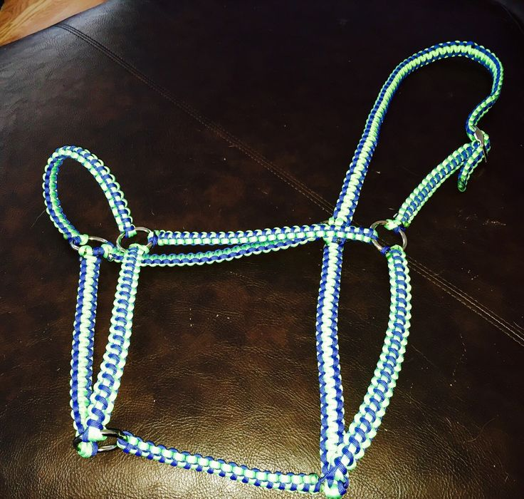A personal favorite from my Etsy shop https://www.etsy.com/listing/225689931/paracorded-custom-made-horse-halter