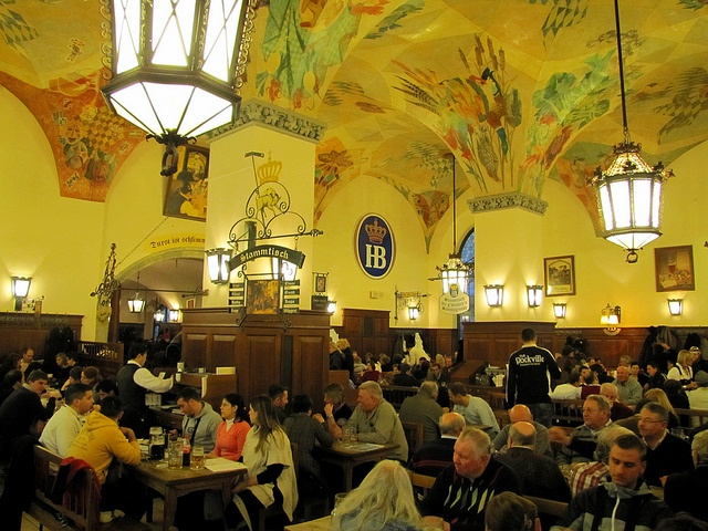 Hofbraeuhaus, Munich, Bavaria Germany (Famous Beer Hall) A must visit if your in Munich Germany!