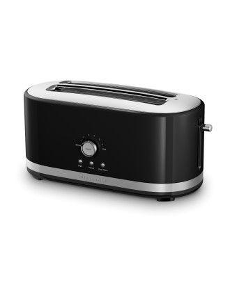 KMT4116 4 Slice Long Slot Toaster  - Black