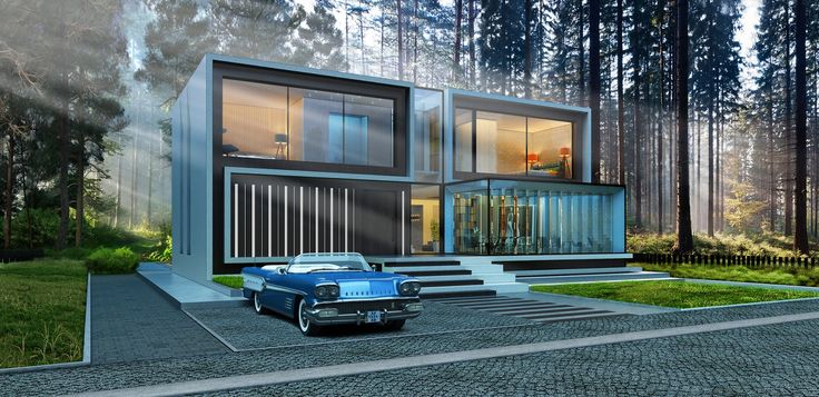 """""""House96""""  370м2/House in the woods/ house in the pine forest"""