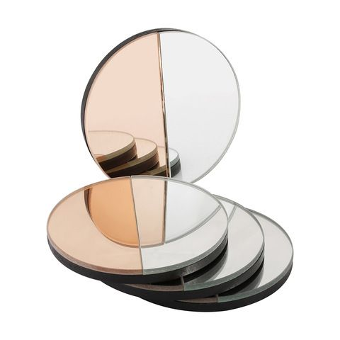 Mirror Coasters - Pack of 6