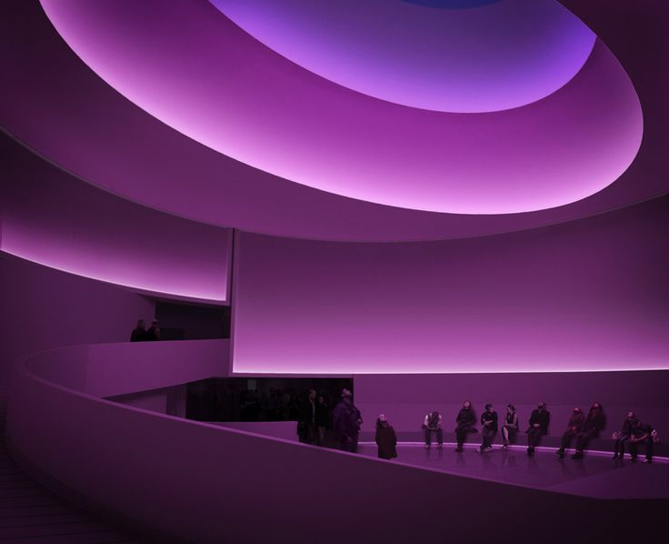 June 21–September 25, 2013  James Turrell's first exhibition in a New York museum since 1980 focuses on the artist's groundbreaking explorations of perception, light, color, and space, with a special focus on the role of site-specificity in his practice. At its core is a major new project that recasts the Guggenheim rotunda as an enormous volume filled with shifting artificial and natural light.