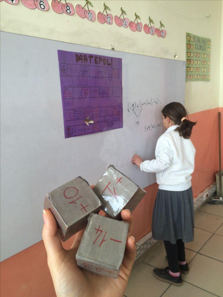 #6.sınıf #tam sayılar #matepoli #elemeği 👌🏻