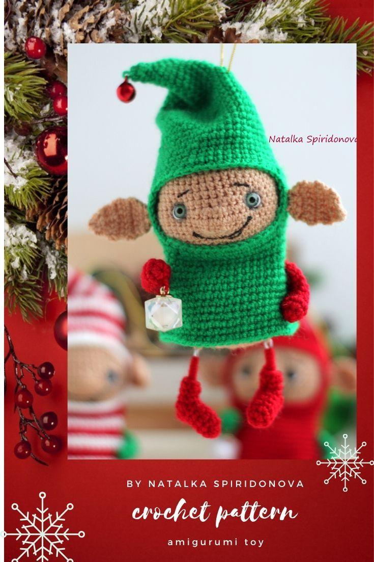 Elf Amigurumi Crochet ⋆ Crochet Kingdom | 1102x735