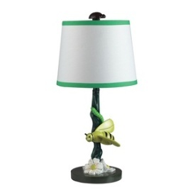 Dimond Lighting Bruce The Bumble Bee Table Lamp With Coordinating Fabric Shade
