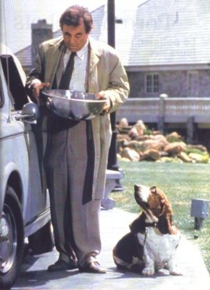Just one more thing... I love that dog!  Columbo and his lethal canine sidekick.