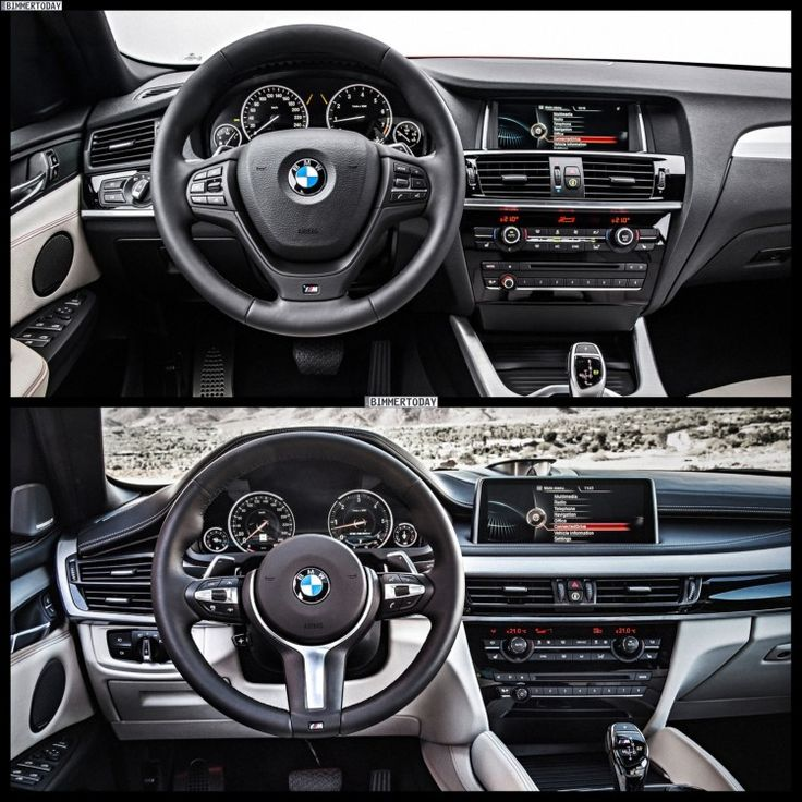 Bmw X6 Price 2015: 2015 BMW X4 On Top. 2015 BMW X6 On Bottom