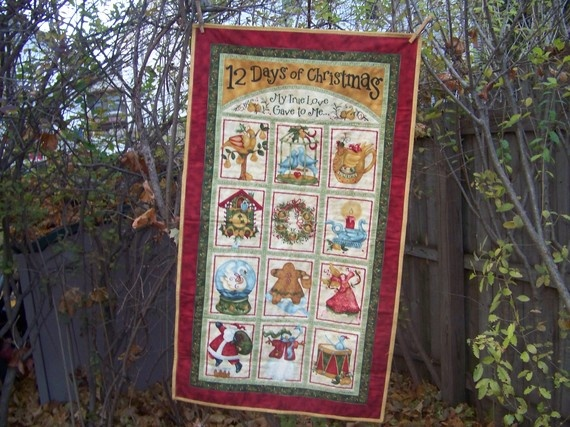 Holiday Fabric Wallhanging