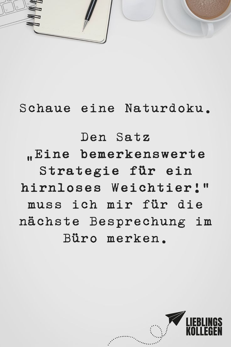 Visual Statements®️ Schaue eine Naturdoku. Den …