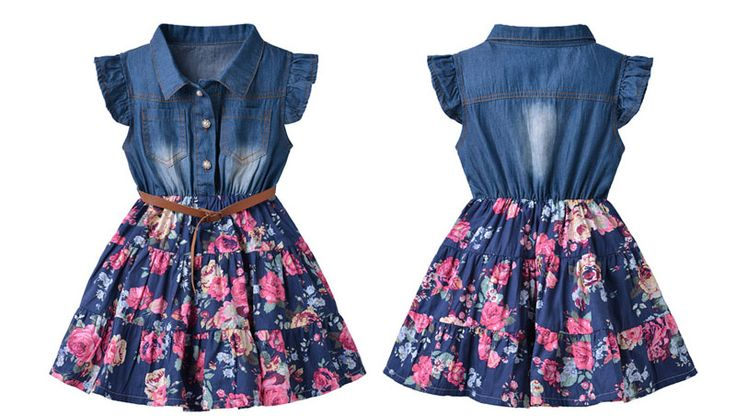 Dril de algodón de moda niños vestido de dril de algodón( ks140110)-Vestido de niña-Identificación del producto:60005931995-spanish.alibaba.com