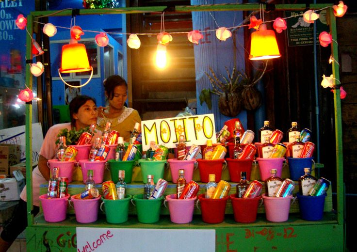 full moon party thailand buckets - Google Search