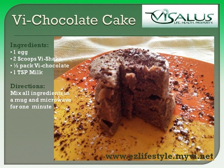 Vi Chocolate Cake Recipe Shake HealthyRecipes Visalus