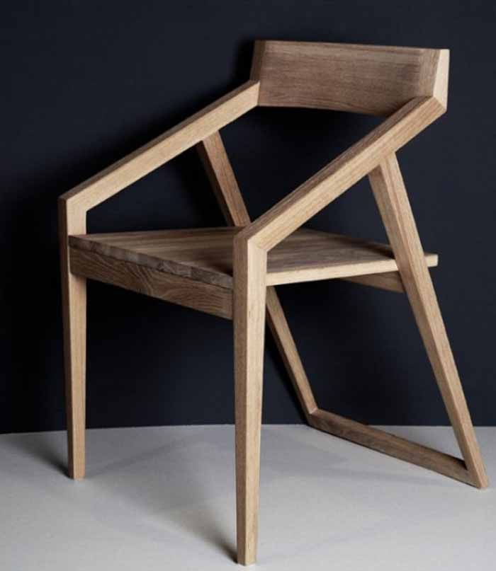 Wooden design chair                                                                                                                                                      More