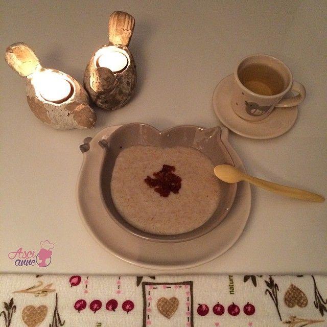 Armutlu Çavdarlı Gece Maması (+6 ay)  Dün gece bu muhallebiyi yaptım Barlas'a.  Mum ışığında bütün tabak bitti.  #bebek #muhallebiler #mamalar #armutlu  #cavdarli #beslenme