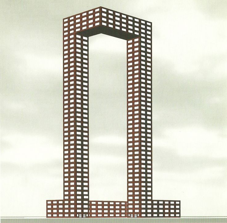archiveofaffinities:  Simon Ungers, Office Tower, From Ferrous Forms, 2001