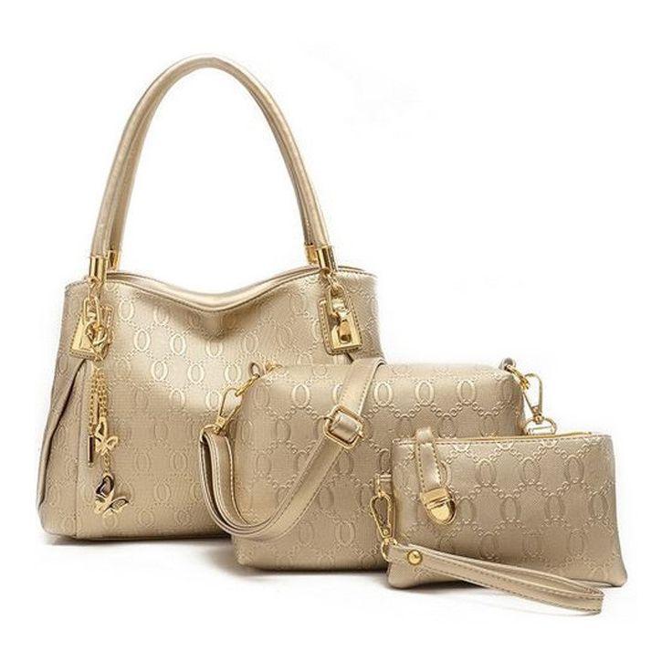New 2015 women handbags genuinet leather handbag women messenger bags brand designs bag bags Handbag+Messenger Bag+Purse 3 Sets-in Shoulder Bags from Luggage & Bags on Aliexpress.com   Alibaba Group