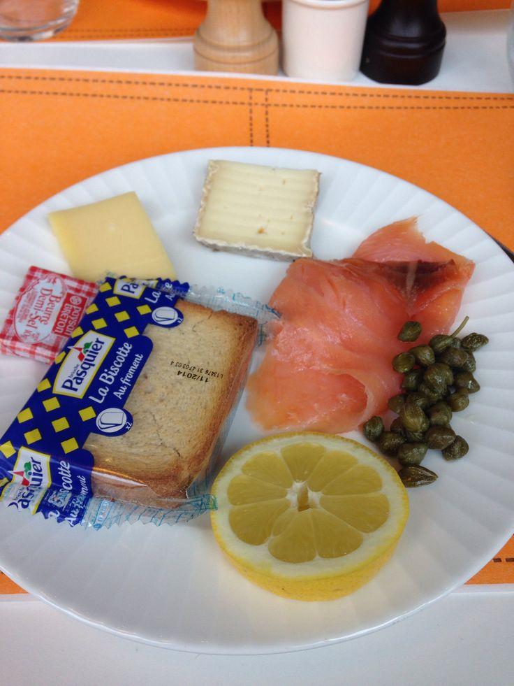 Breakfast in France...