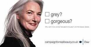 Dove campaign for grey hair