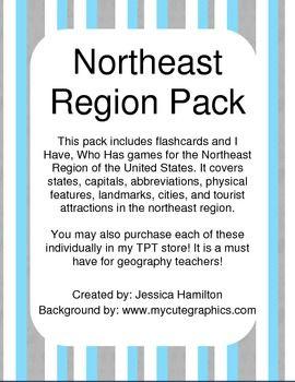 northeast region pack