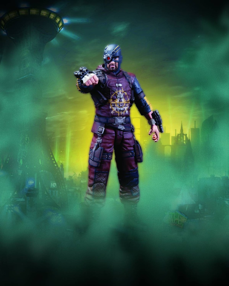 ToyChestnews | Action Figure and Collectible Toy News, Release Dates and More - BATMAN ARKHAM CITY SER 4 DEADSHOT AF