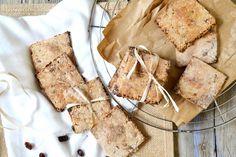 Biscuits rustiques sans sucre ajouté vegan // Parfaits pour les petits creux au bureau !