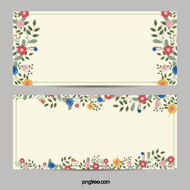 Fundo De Cartao De Convite De Fronteira De Flor Flower Border Flower Backgrounds Floral Background