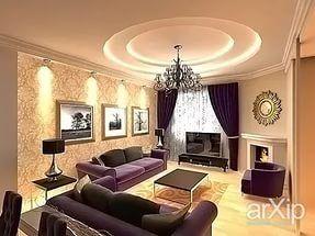 гостиная студия с камином в стиле модерн фото в городской квартире: 24 тыс изображений найдено в Яндекс.Картинках