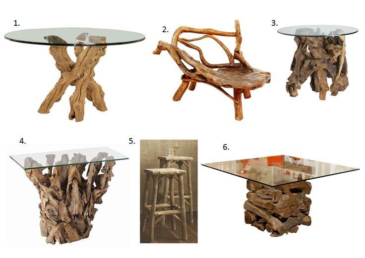 Superb Driftwood Furniture For Sale #7: Pinterest