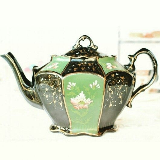 Antique teapot
