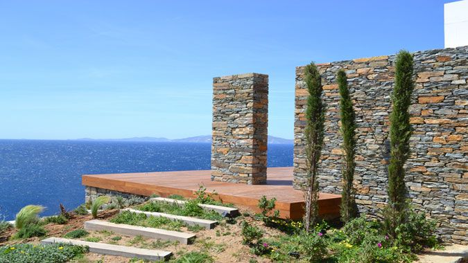 #design #architecture #greece #aegeansea #tinos #sea Summer house in Tinos, designed and developed by A&T Kontodimas Architects  Learn more: http://bit.ly/WmPOV2