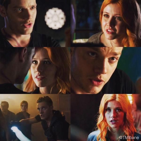 Jace and Clary in the Shadowhunters Trailer