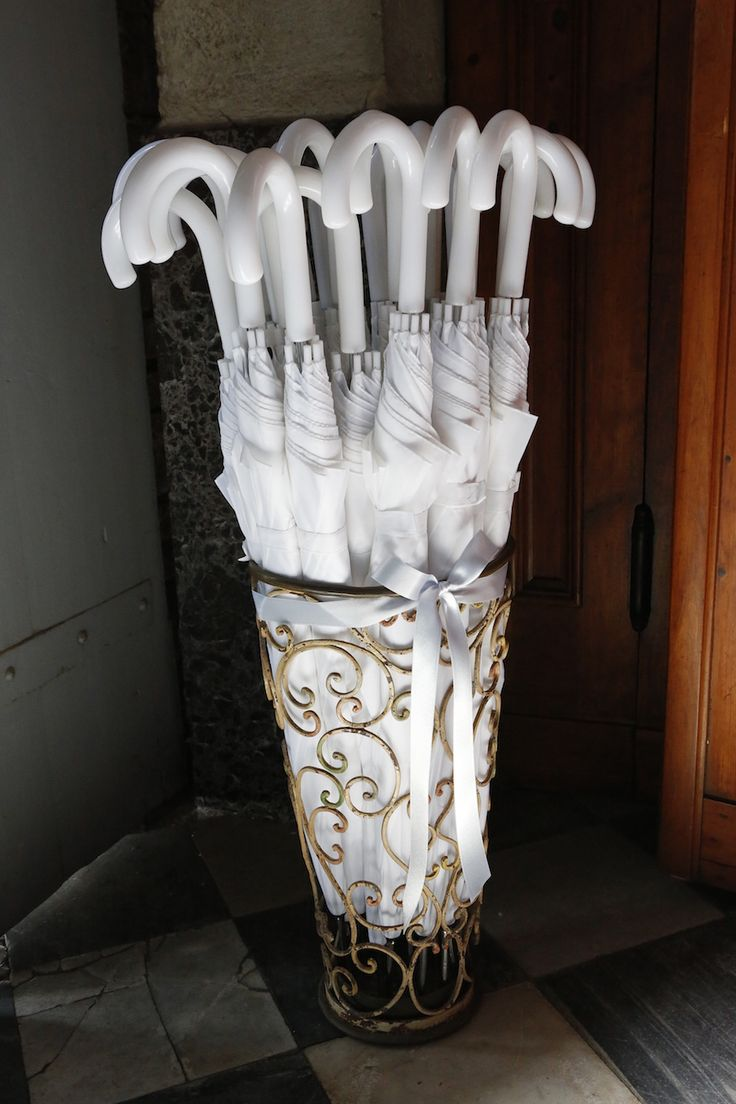 Ombrelli per gli invitati #matrimonio