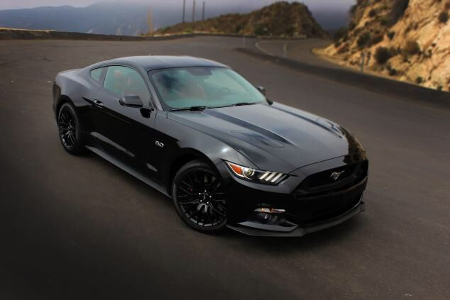 2016 ford mustang gt badass black with performance pack petrol pinterest ford mustang gt ford mustangs and black - Ford Mustang 2016 Black