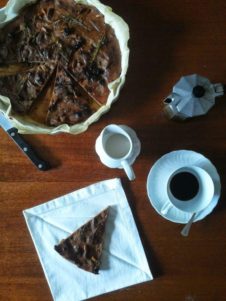 Tè verde e pasticcini: { RicetteDiStagione } - Castagnaccio tradizionale ...