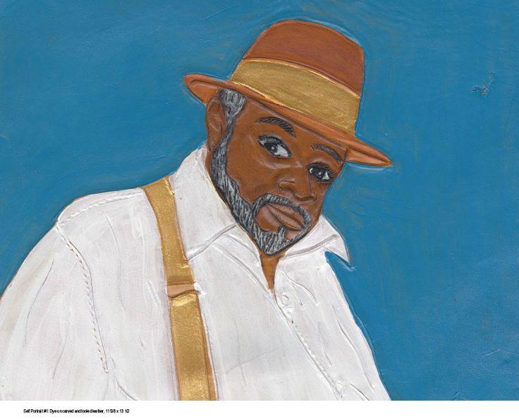 Self portrait #1 by Winfred Rembert