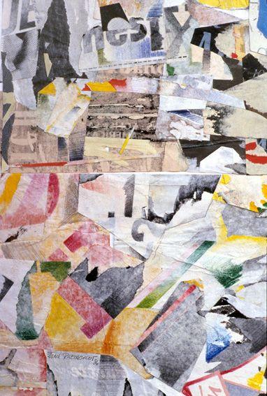 frank Rheinboldt 1988 Drawing-Collage www.losangeles-paris.com