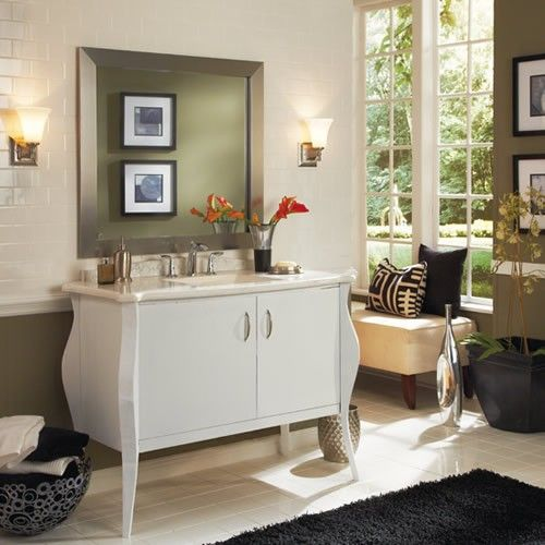 44 best MirrorMate Makeovers images on Pinterest   Bathroom mirrors ...