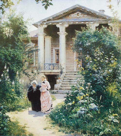 Василий Поленов. (1878) Бабушкин сад